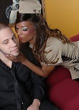 Wolf wants to skip military service so he gets drafted straight to Natassia's cock and ass