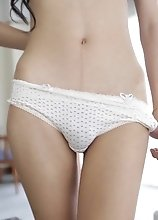 Really skinny ladyboy shows that she can suck and fuck like a champion