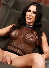 Here's another solo set of Marissa Minx getting naked and stroking her cock all alone! If only you were there to give her a hand.. or even a mout