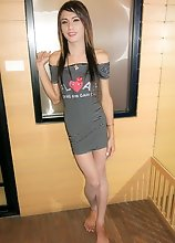 Ladyboy Dao - Asshole Gaped and Creampied