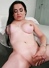 Maxviel is a sexy Latina with a hot body and a big cock. She's a great girl!