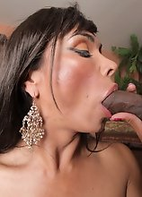 One of the most famous pornstars Vaniity takes on some hardcore black dick. Watch her get fucked in this hardcore interracial scene!