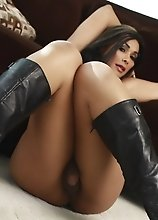 Amazing Vaniity strips on the sofa